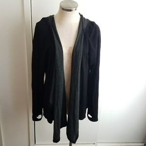Cable & Gauge Hooded Cardigan